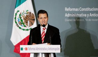 Mexican President-elect Enrique Pena Nieto, who is set to take office on Saturday, will hit the ground running after a Tuesday meeting at the White House with President Obama. They have a chance to reshape U.S.-Mexico relations, observers say. (Associated Press)