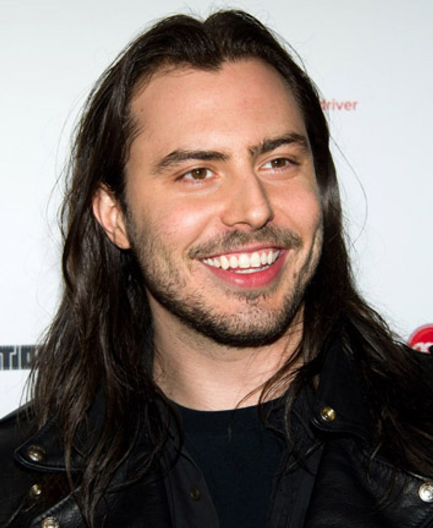 "Andrew W.K. attends the 35th anniversary screening of ""Taxi Driver"" in New York, Thursday, March 10, 2011. (AP Photo/Charles Sykes)"