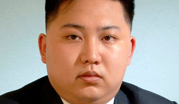 This undated official portrait released on Thursday, April 12, 2012, by the Korean Central News Agency via the Korea News Service shows North Korean leader Kim Jong-un. KCNA said the image was published in the Worker's Party newspaper and was the first time an image of Kim Jong-un wearing a suit has been shown to the public. Mr. Kim was named first secretary of North Korea's ruling Workers' Party, a newly created post, at Wednesday's Workers' Party Conference. (AP Photo/Korean Central News Agency via Korea News Service)