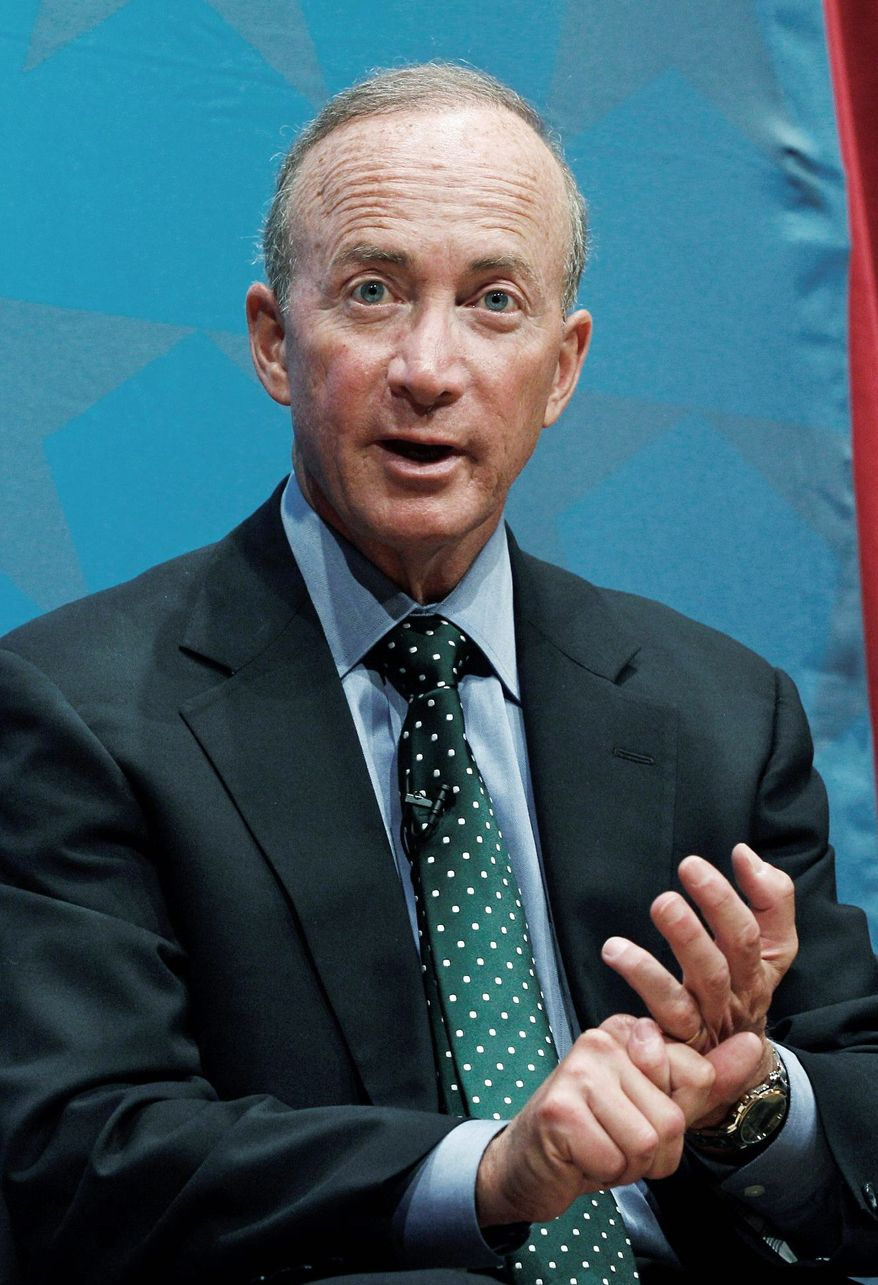 Outgoing Indiana Gov. Mitch Daniels and his now-ousted superintendent of schools, Tony Bennett, spearheaded controversial changes in the state over the past two years. But the future of their reform work is now very much in doubt. (Associated Press)
