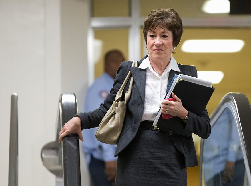 Sen. Susan M. Collins, Maine Republican (AP Photo/Evan Vucci)