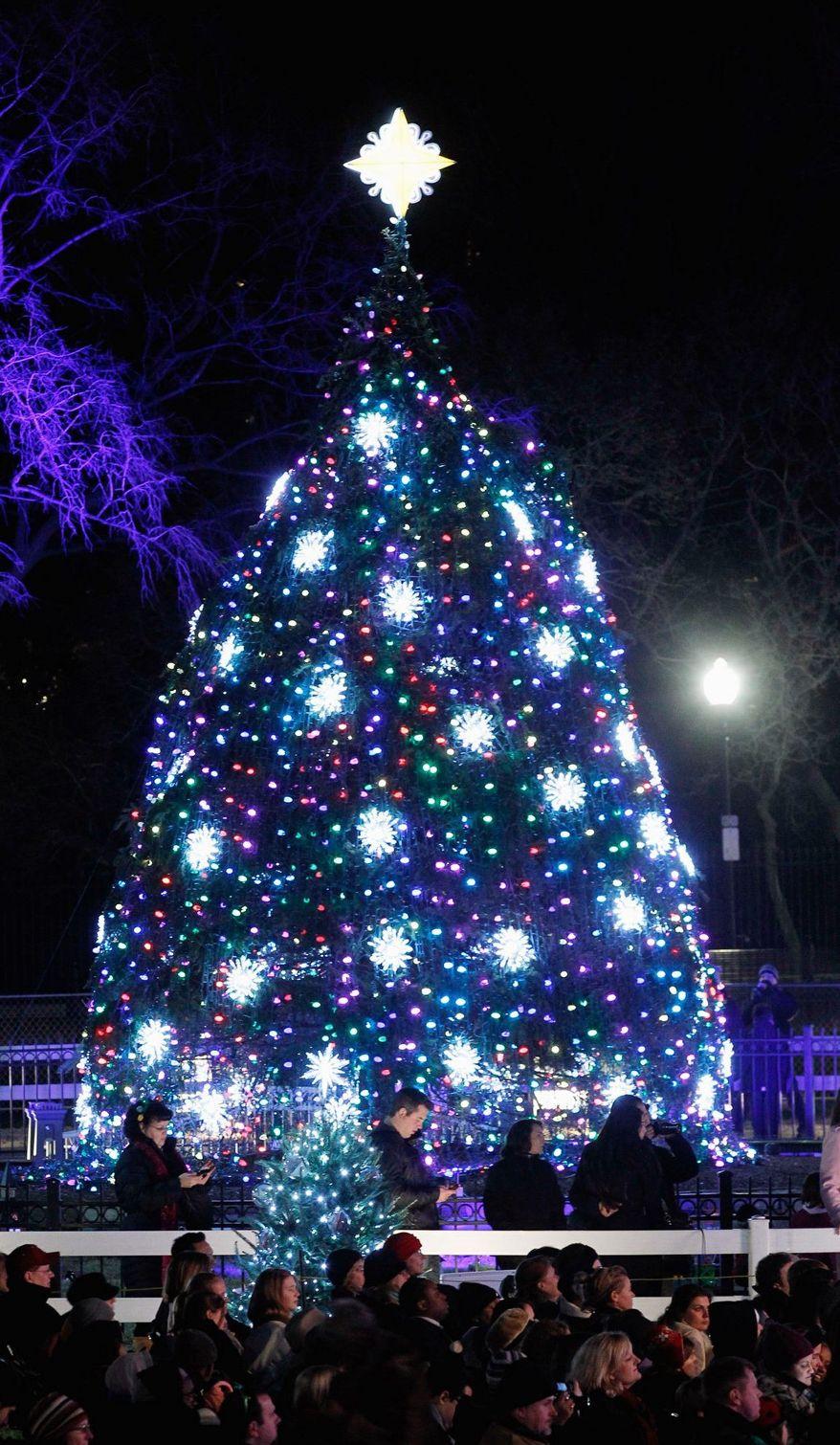The National Christmas Tree Lighting