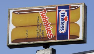 A Hostess Twinkies sign identifies the Hostess plant in Ogden, Utah. (Associated Press)