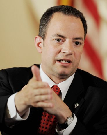 Republican National Committee Chairman Reince Priebus (The Washington Times)