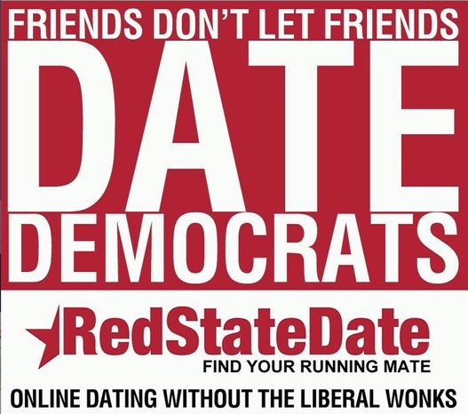 Politically driven matchmaking sites Redstatedate.com and Bluestatedate.com are doing a brisk business among romantic partisans. The sites allow visitors to weigh in on issues. (Political Matchmakers)