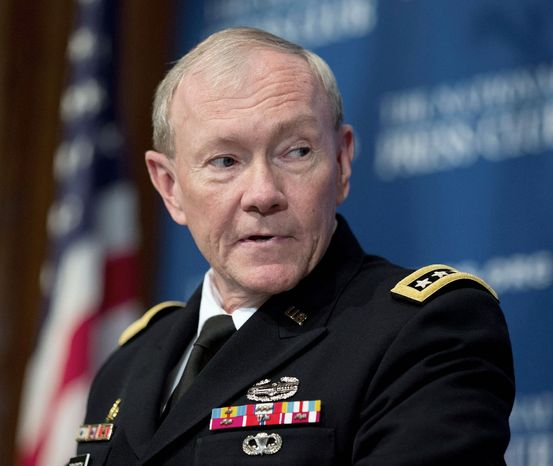 ** FILE ** Joints Chiefs Chairman Gen. Martin E. Dempsey. (Associated Press)