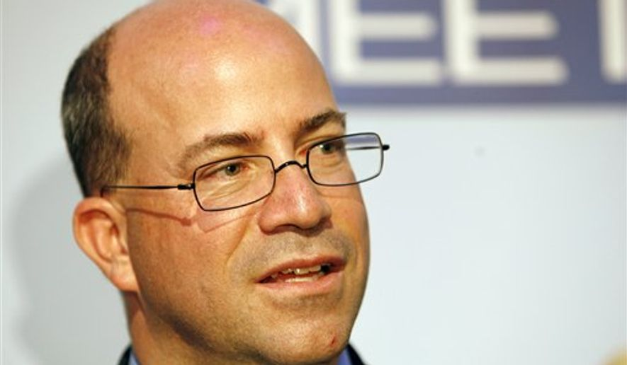 CNN President Jeff Zucker. (AP Photo/Charles Dharapak, File) ** FILE **