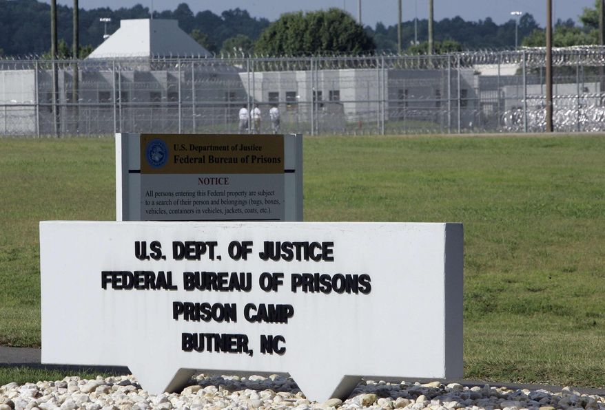 ** FILE ** The Butner Federal Correctional Complex in Butner, N.C., is pictured on Monday, July 13, 2009. (AP Photo/Gerry Broome)