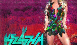 """Album cover for Ke$ha """"Warrior""""."""