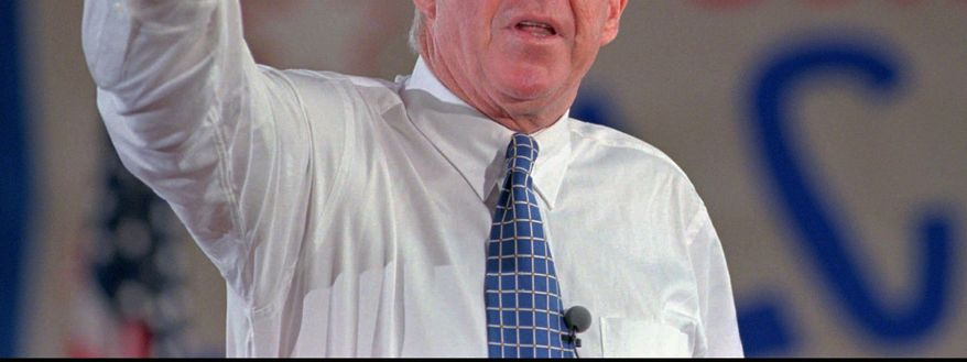 Former Congressman, Cabinet member and football player Jack Kemp died in 2009 at age 73. The Jack Kemp Foundation dinner will be held Tuesday near the White House. (Associated Press)