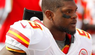 Jovan Belcher turned a gun on himself in front of Chiefs coach Romeo Crennel and general manager Scott Pioli on Saturday morning, shortly after murdering his girlfriend, who also was the mother of their 3-month-old daughter. Kansas City went on to claim an emotional victory over Carolina on Sunday. (Associated Press)