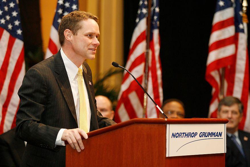 **FILE** Wes Bush, chief executive officer of Northrop Grumman Corp. (Associated Press/Press-Register)