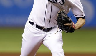 James Shields will now become the Royals' No. 1 starter. (AP Photo/Chris O'Meara)