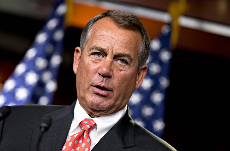 """I looked at [Treasury Secretary Timothy F. Geithner] and said, 'You can't be serious.' We've got seven weeks between Election Day and the end of the year. And three of those weeks have been wasted with this nonsense,"" said House Speaker John A. Boehner, Ohio Republican. (Associated Press)"