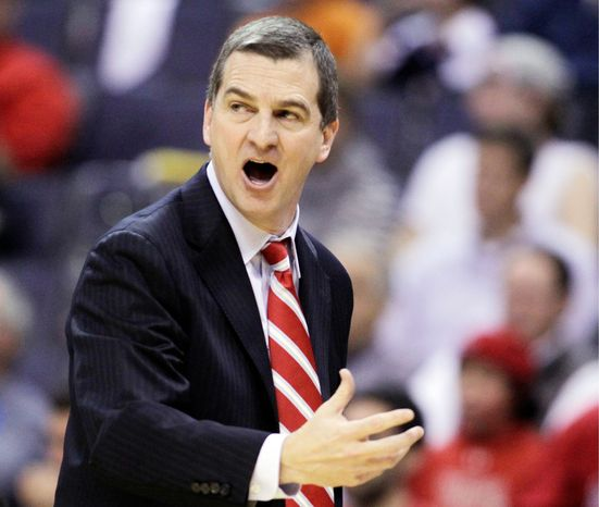 ** FILE ** Maryland coach Mark Turgeon (AP Photo/Luis M. Alvarez)
