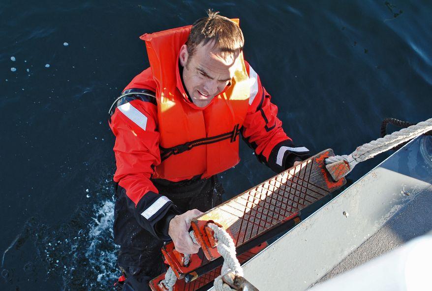 Coast Guard Chief Petty Officer Terrell Horne III, shown in an undated photo, was killed in the early morning of Sunday, Dec. 2, 2012, during law enforcement operations near California's Santa Cruz Island. (AP Photo/U.S. Coast Guard/ Lt. Stewart Sibert)