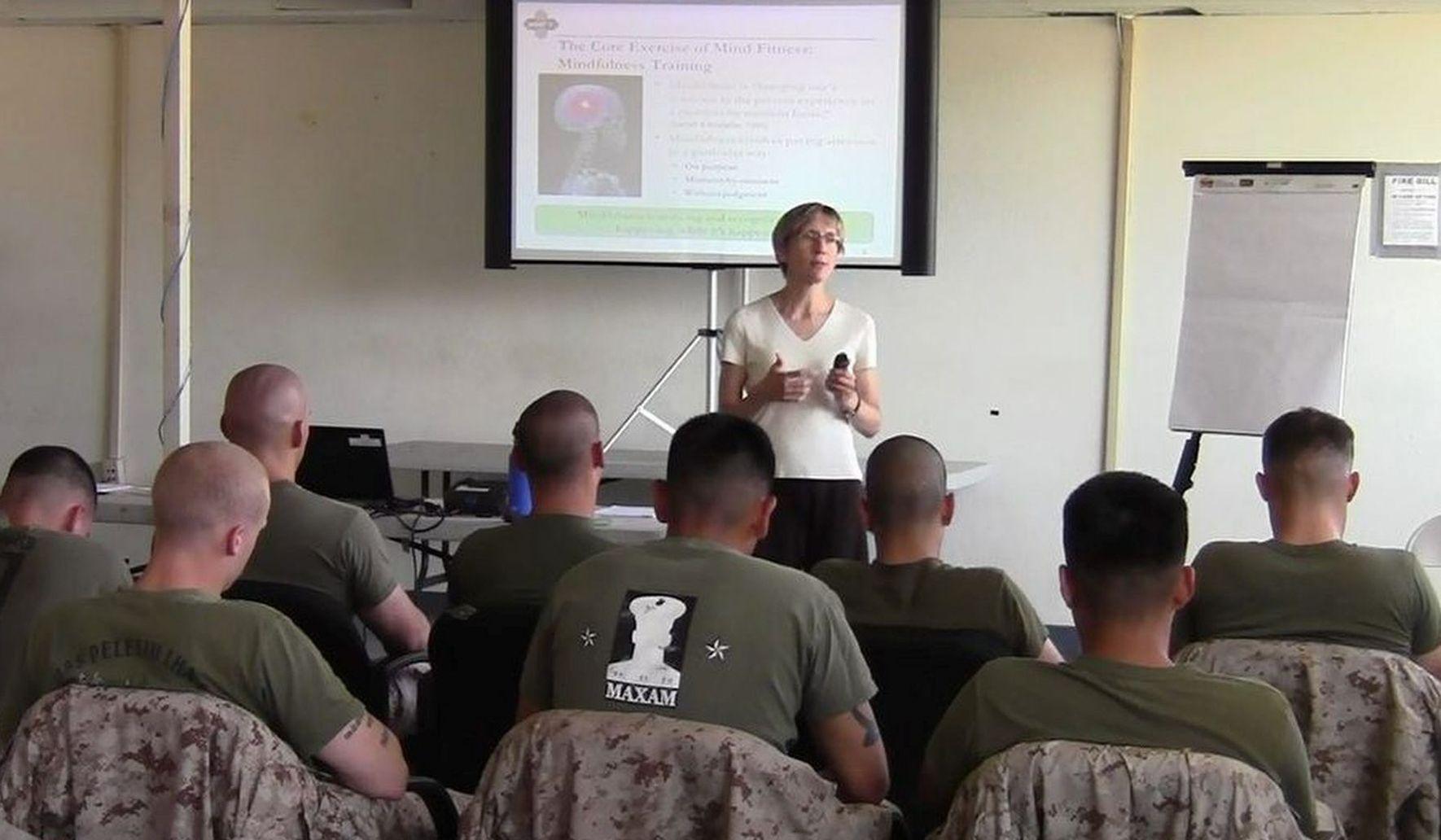 Marines expanding use of meditation training - Washington Times
