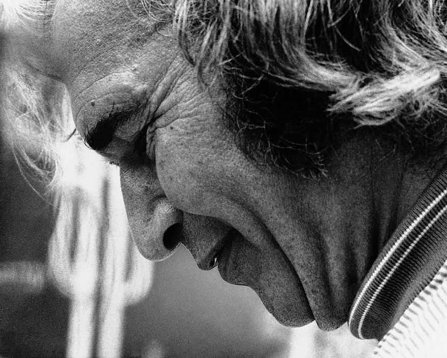 Profile view of Jazz Pianist Dave Brubeck in 1974. (AP Photo)