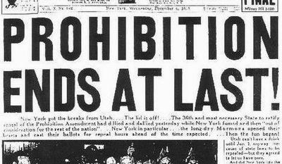 """If you missed celebrating """"Repeal Day,"""" the DC Craft Bartenders Guild will be mixing superior classic cocktails at their annual Repeal Day Ball on Saturday evening at the Hill Center at the Old Naval Hospital."""
