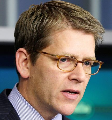 White House press secretary Jay Carney (AP photo)