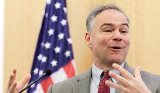 Sen. Tim Kaine, Virginia Democrat (Associated Press) ** FILE **