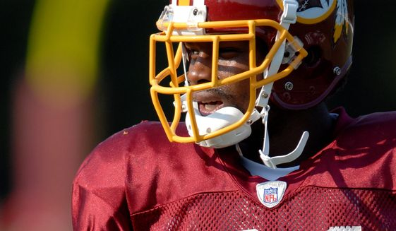 Safety Sean Taylor (21) was shot and killed Nov. 27, 2007. (Peter Lockley / The Washington Times)