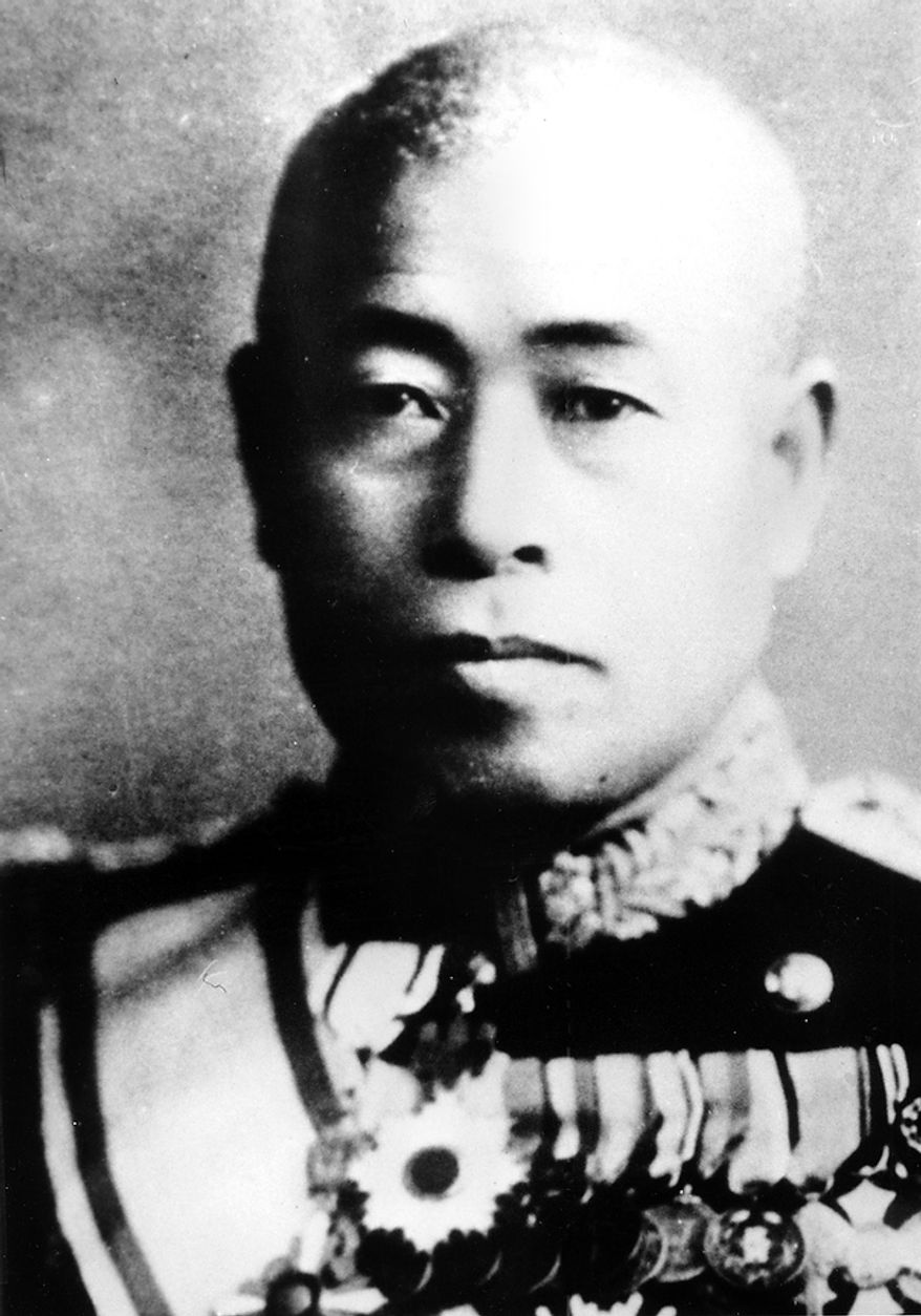 This is an undated photograph of  Admiral Isoroku Yamamoto, who was the commander of Japan's Combined Fleet and planned the attack on Pearl Harbor during World War II.  He was gunned down by the U.S. Army Air Force while inspecting the Northern Solomon Islands on April 18, 1943.  Yamamoto was born in Japan in 1884 and studied at Harvard University in the U.S.  (AP Photo)