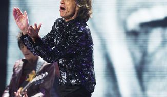 Mick Jagger and the Rolling Stones have been added to the list of artists performing at the Superstorm Sandy benefit concert on Wednesday in New York City. (Associated Press)