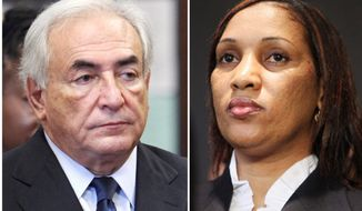 """Dominique Strauss-Kahn's lawyers acknowledged there had been settlement talks though they dismissed as """"flatly false"""" a report that Mr. Strauss-Kahn had agreed to pay $6 million. Nafissatou Diallo's lawyers have declined to comment. (Associated Press)"""