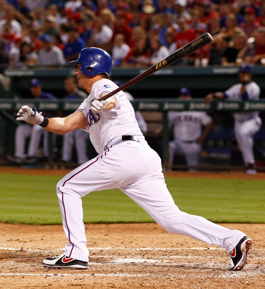 associated press The Phillies acquired veteran Michael Young from the Rangers on Sunday. From 2003-2011, Young hit at least .300 seven times and averaged 17 home runs and 90 RBI.