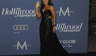 Singer Toni Braxton arrives at The Hollywood Reporter Nominees Night at Los Angeles Mayor Antonio Villaraigosa's official residence on Thursday, Feb. 23, 2012. (AP Photo/Chris Pizzello)