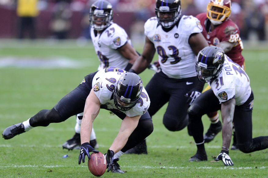 at FedEx Field, Landover, Md., Dec. 9, 2012. (Preston Keres/Special to The Washington Times)