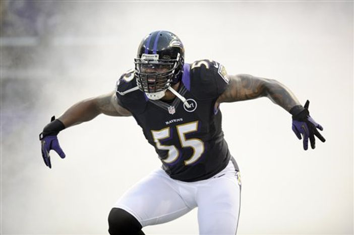 Terrell Suggs (Associated Press)