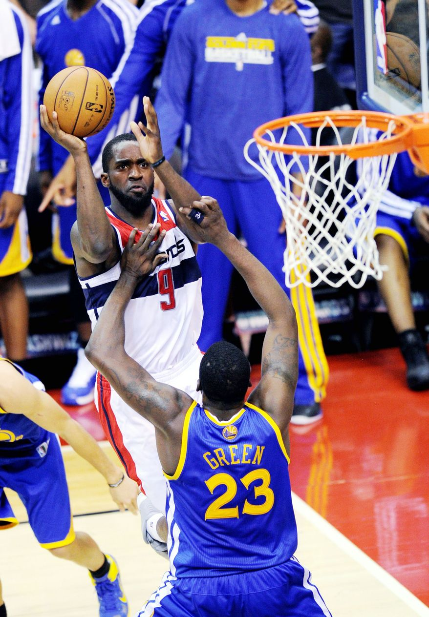 Forward Martell Webster has appeared in 16 games for the Wizards, starting two. He scored nine points in Saturday's loss to Golden State. (Associated Press)