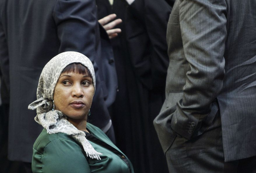 Nafissatou Diallo, a hotel housekeeper who had contended she was sexually assaulted by then-International Monetary Fund chief Dominique Strauss-Kahn, agreed to a settlement Monday in court in New York. The amount of the settlement was kept confidential. Mr. Strauss-Kahn did not attend the hearing. (Associated Press)