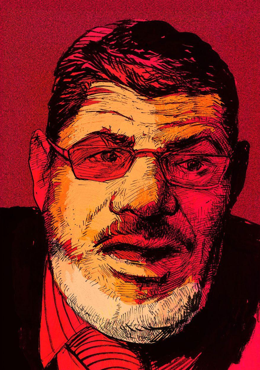 Mohammad Morsi Illustration by Paul Tong