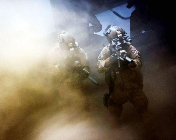 "Scene from ""Zero Dark Thirty."" (Associated Press)"