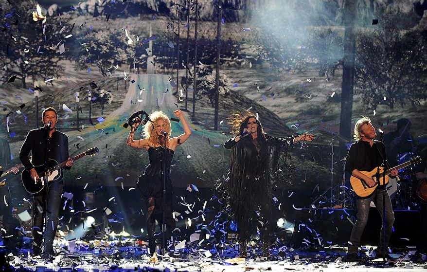 Little Big Town performs during the American Country Awards on Monday, Dec. 10, 2012, in Las Vegas. (Al Powers/Powers Imagery/Invision/AP)