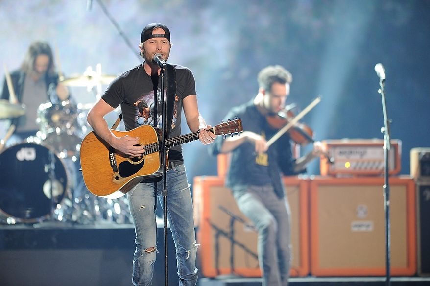 Dierks Bentley performs during the American Country Awards on Monday, Dec. 10, 2012, in Las Vegas. (Al Powers/Powers Imagery/Invision/AP)