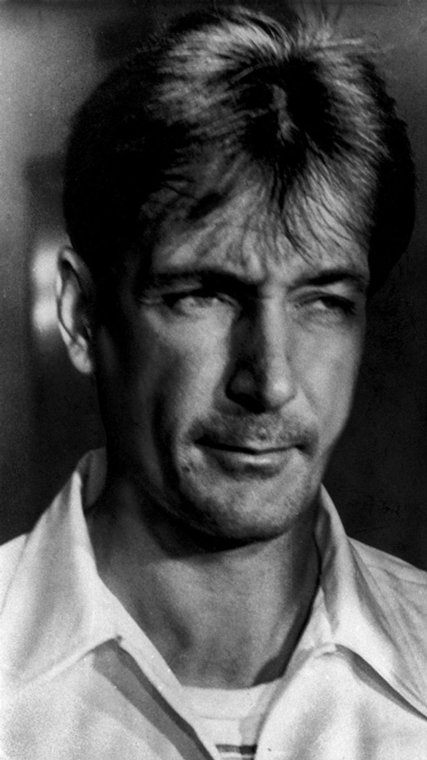 **FILE** Convicted murderer Gary Mark Gilmore is seen here in 1976. (Associated Press)