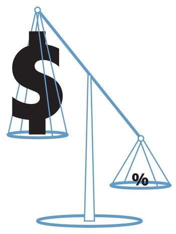 Illustration Tipping the Scales by Greg Groesch for The Washington Times