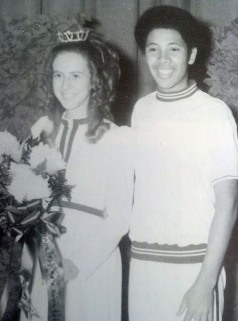 Dale Martin escorted the second-runner up homecoming queen at Nowata High School on Feb. 4, 1972, after two other white girls stepped down over controversy involving his selection. The coronation went off without incident.