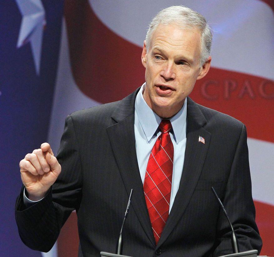 Sen. Ron Johnson, Wisconsin Republican (Associated Press)