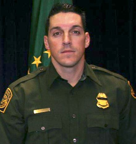This undated photo provided by U.S. Customs and Border Protection shows U.S. Border Patrol agent Brian A. Terry, who was fatally shot in 2010 north of the Arizona-Mexico border while trying to catch bandits who target illegal immigrants. (Associated Press/U.S. Customs and Border Protection) ** FILE **