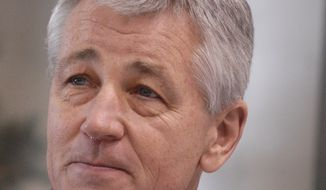 **FILE** Then-Sen. Chuck Hagel is pictured in 2008. (Associated Press)