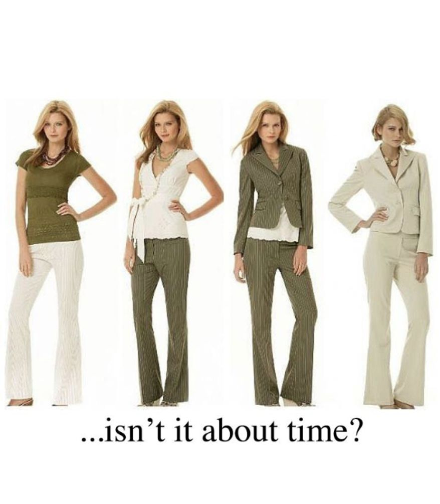 """All Enlist, a new breed of Mormon feminists seeking gender equality, have declared Dec. 16 to be worldwide """"Wear Pants to Church Day."""" (All Enlist)"""