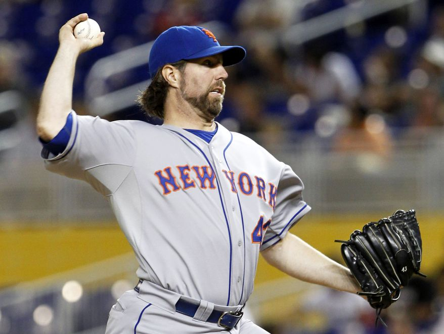 The New York Mets traded reigning National League Cy Young winner R.A. Dickey to the Toronto Blue Jays. (Associated Press)