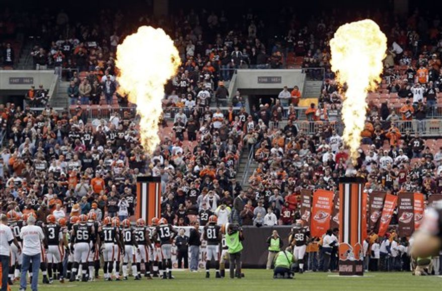 Cleveland Browns Stadium (Associated Press)