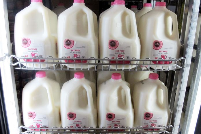 The 2008 farm bill expired in September. If Congress fails to pass a new farm bill by the end of the year, or at least extend certain provisions, milk-pricing rules will revert back to those outlined in a 1949 law causing milk prices to double. Many industry officials and lawmakers warn a gallon of milk could balloon to $7. (Associated Press)