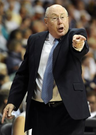 Mike Thibault on Tuesday was named the Washington Mystics' new coach and general manager. (AP Photo/Jessica Hill, File)